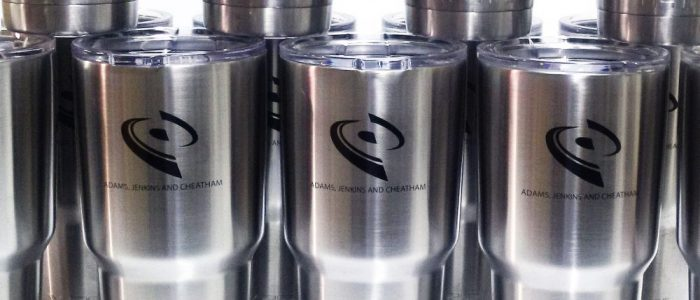 custom engraved ozark cups engraving branded business yeti laser engraving pros rtic cups engraving stainless tumblers rtic cups