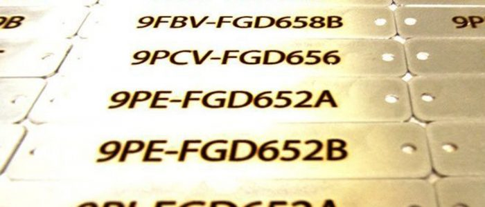 Stainless Tags Engraving custom engaved metal tags laser engraving pros Aluminum Tags Engraving Data Plates Engraving